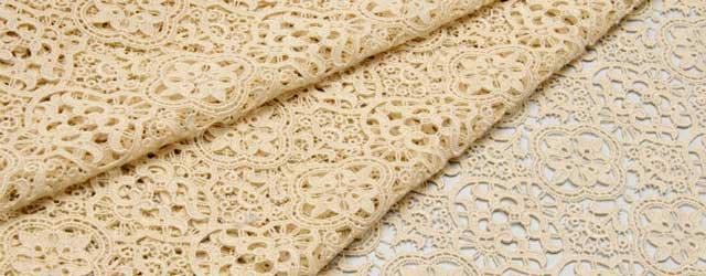 Solstiss lace fabric