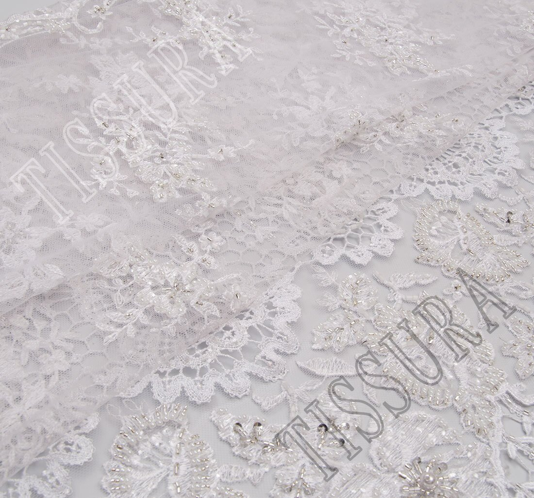 Embroidered Tulle Lace