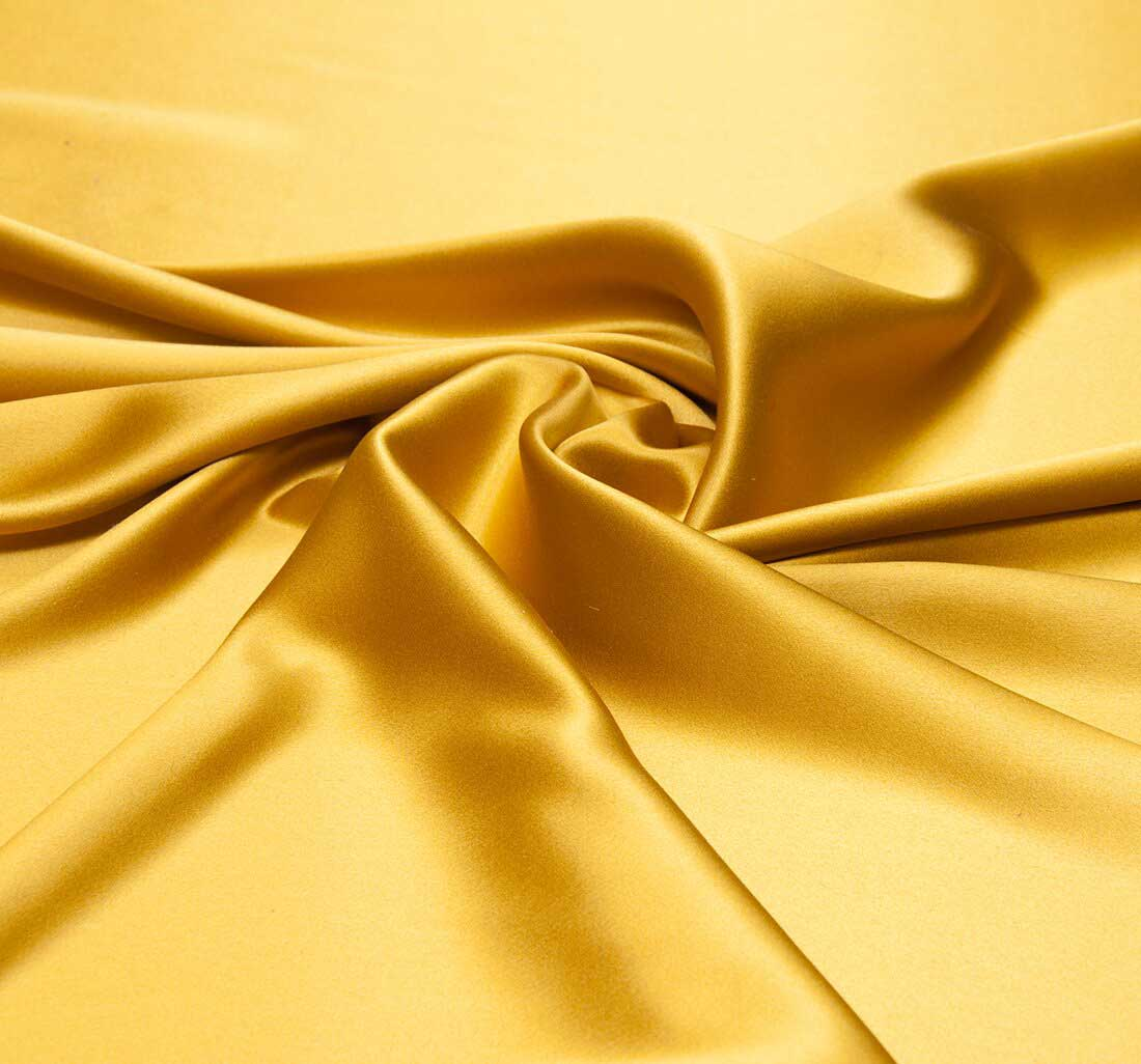 golden silk satin