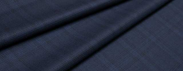 Worsted wool fabric