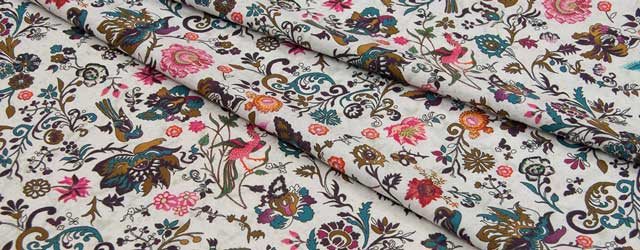 Stretch cotton fabric
