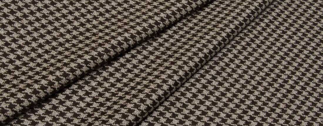 Merino wool jacquard fabric