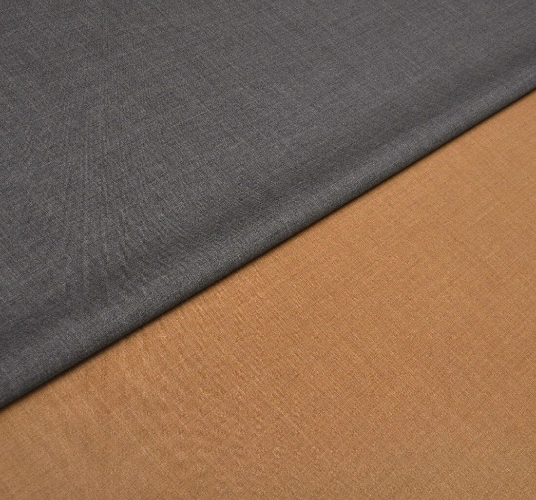 Luxury double stretch coating wool fabric