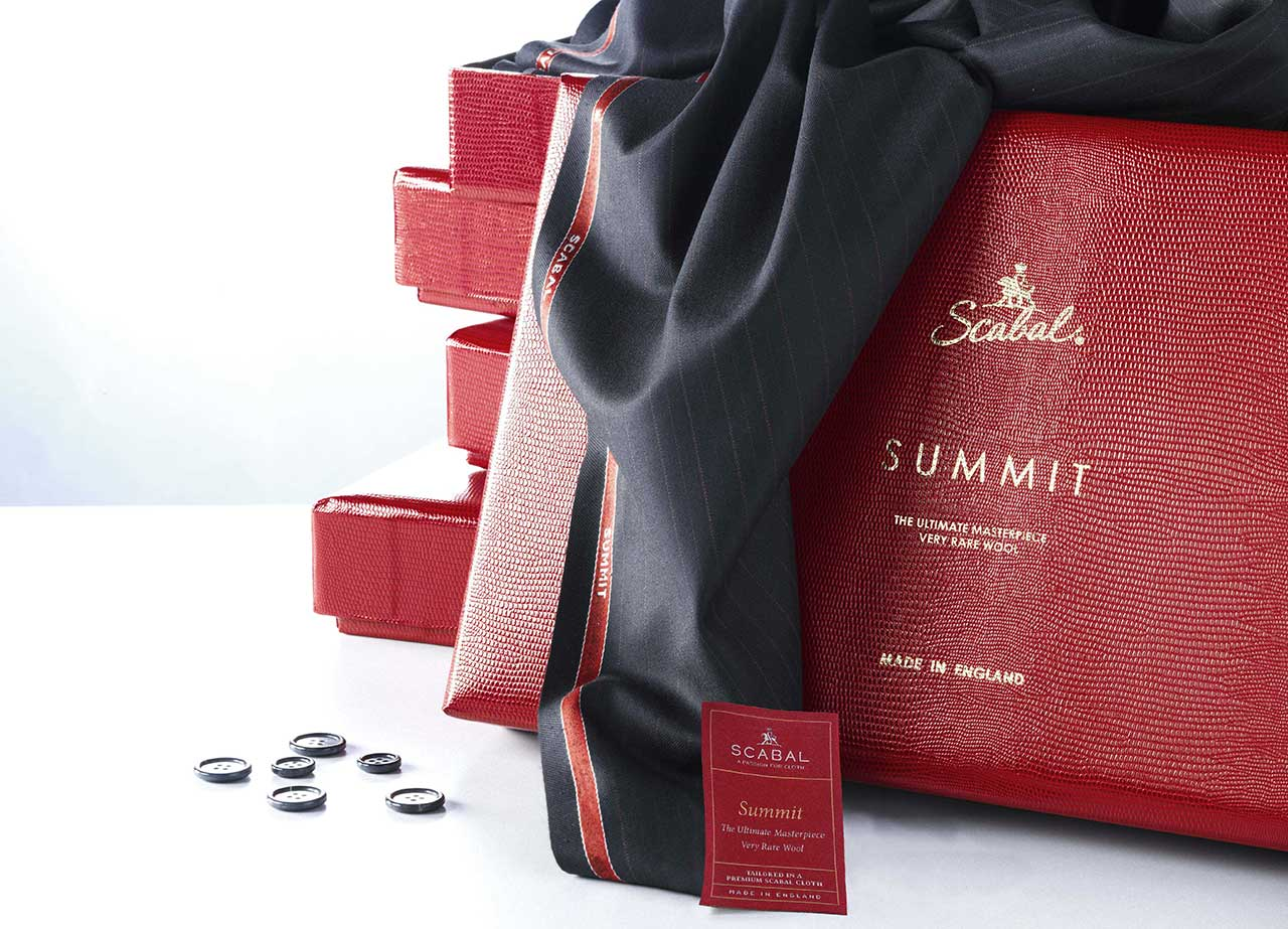Scabal summit wool fabric collection
