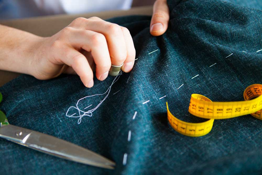 sewing with coating fabric