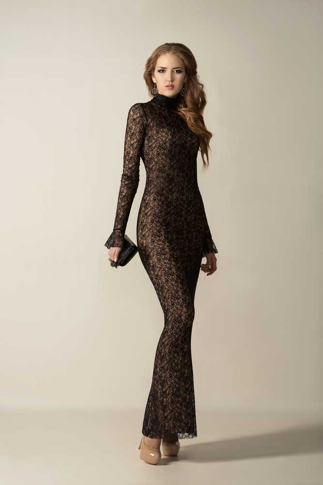 Sheath lace dress