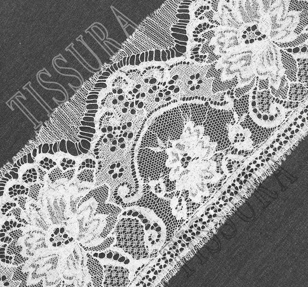 Silk Chantilly Lace Trim #1