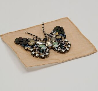 Crystal & Bead Patch #1