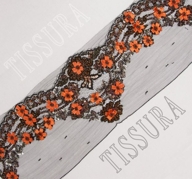 Embroidered Lace Trim #1
