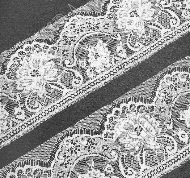 Silk Chantilly Lace Trim #3