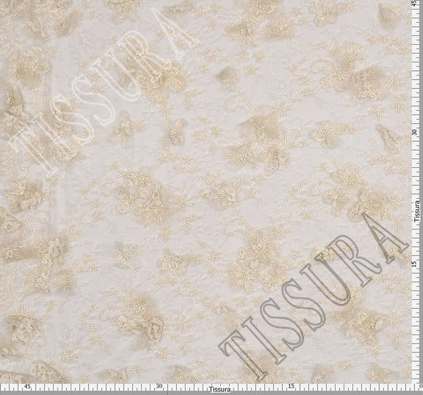 Applique Embroidered Chantilly Lace #2