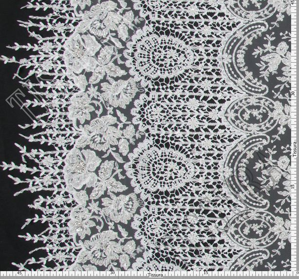 Embroidered Tulle Lace #2