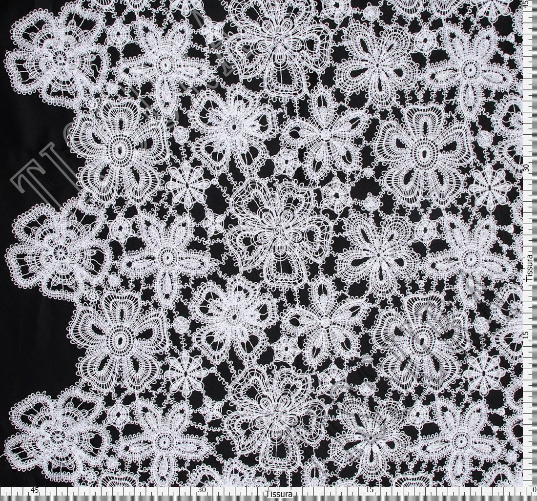 Guipure Lace Fabric Bridal Fabrics From Austria By Hoh Sku 00060736 At 184 Buy Lace Fabrics Online