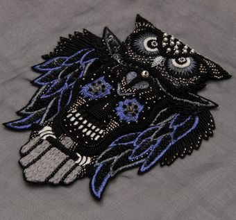 Bead & Sequin Patch #1