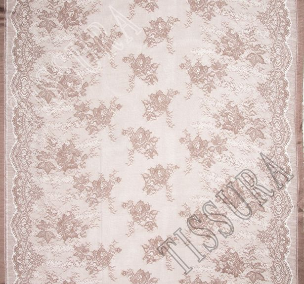 Silk Chantilly Lace #1
