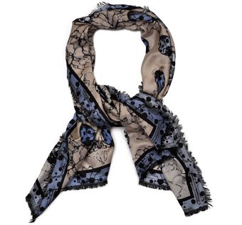 Cotton & Silk Scarf #1