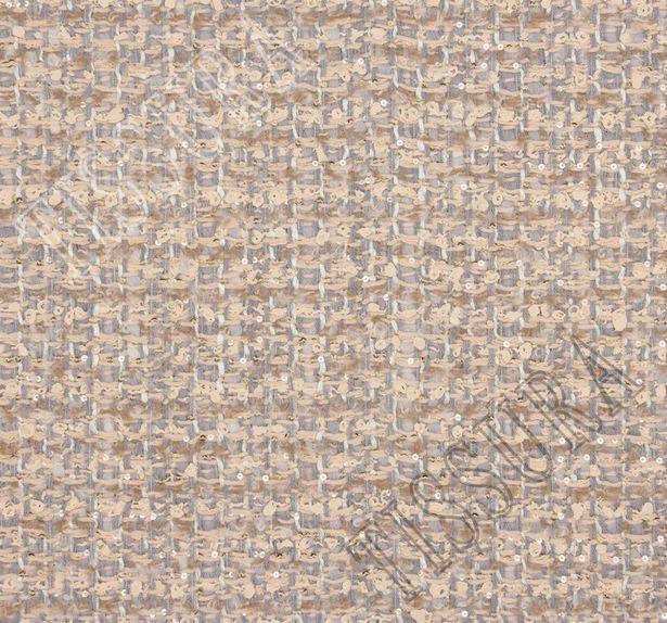Sequined Wool Tweed Boucle #3