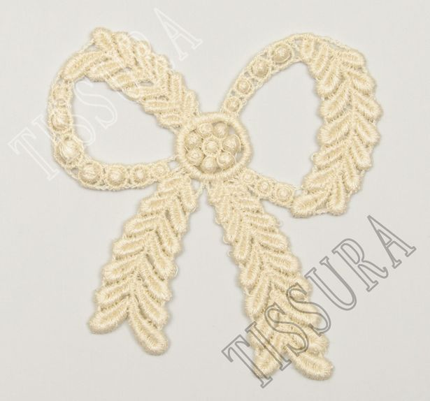 Bow Applique Patch #1
