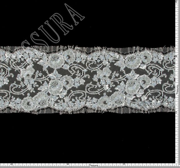 Sequined Beaded Lace Trim #2