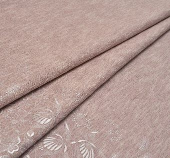 Embroidered Melange Fabric #1