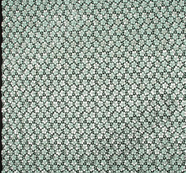 Sequined Guipure Lace #3