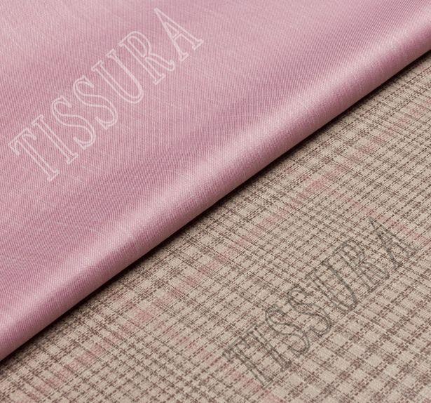 Double Faced Wool, Silk & Linen #1