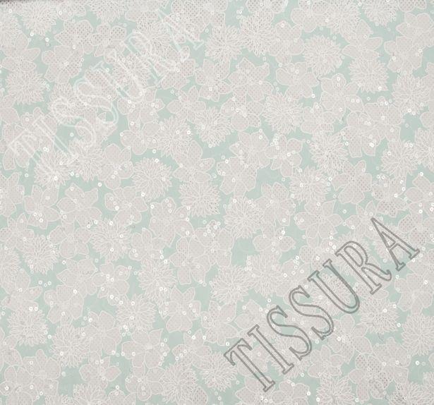 Designer Sequined Cotton #3