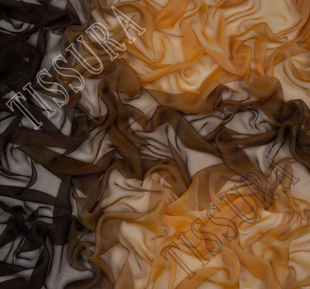 Ombre Silk Chiffon #1