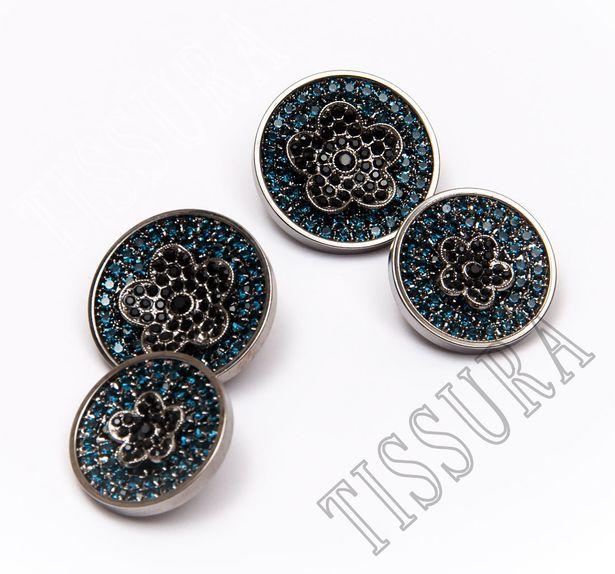 Rhinestone Buttons #1
