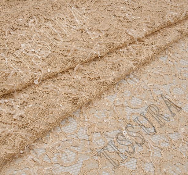 Sequined Corded Lace #1