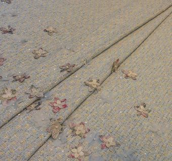 Embroidered Tweed Boucle #1