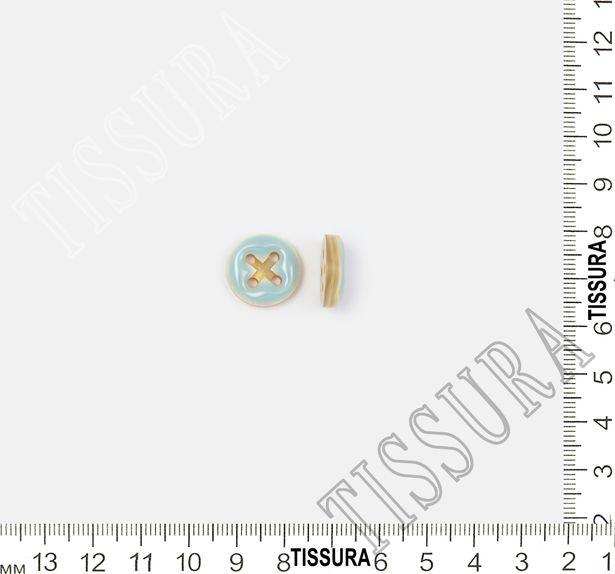 Enamel Horn Buttons #2