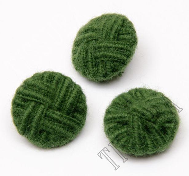 Mohair Braided Buttons #3