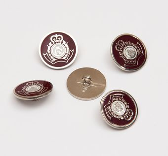 Metal Button #1