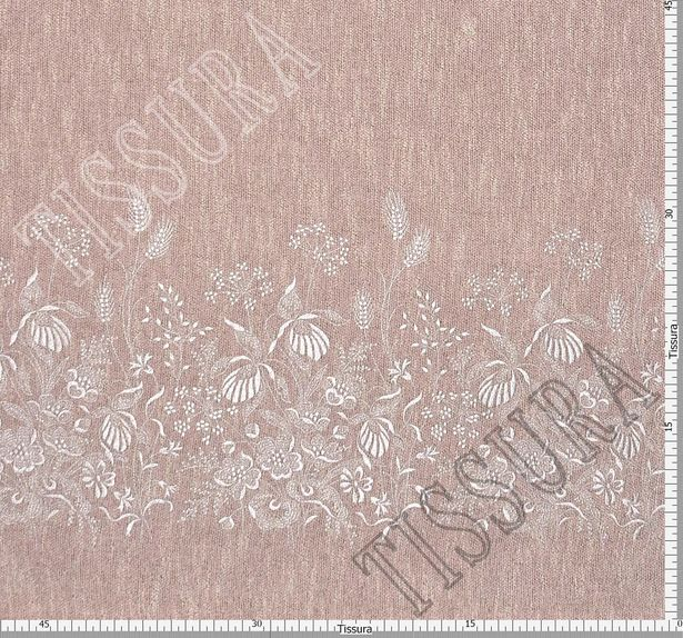 Embroidered Melange Fabric #3