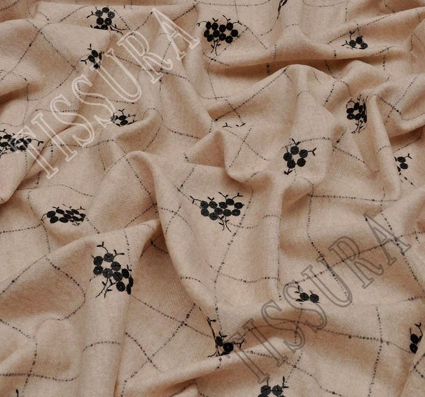 Luxury Sequined Alpaca & Wool #3