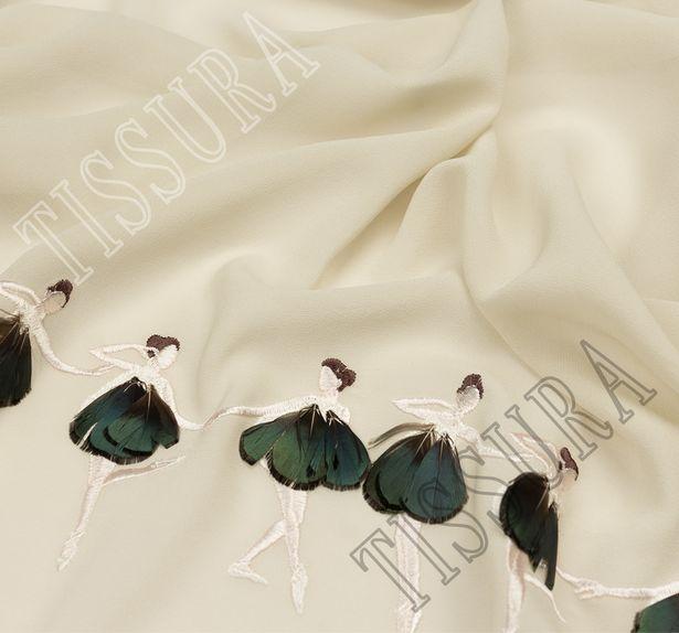 Embroidered Silk Georgette #3