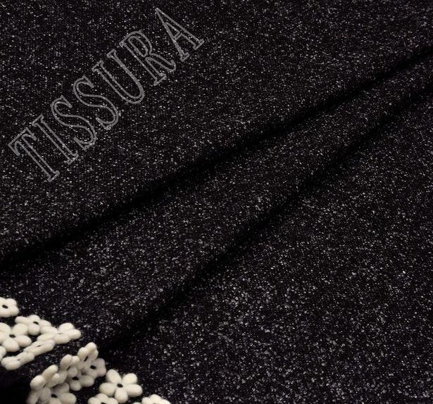 Embroidered Wool Tweed #4