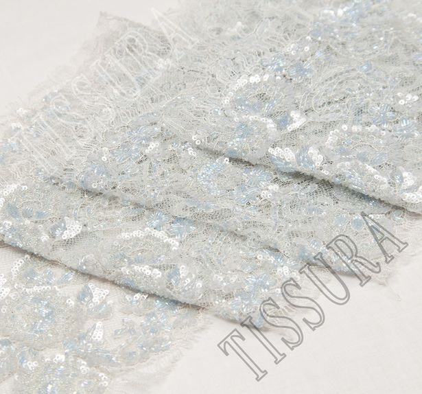 Sequined Beaded Lace Trim #3