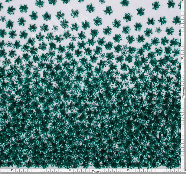 Floral Applique Tulle #2