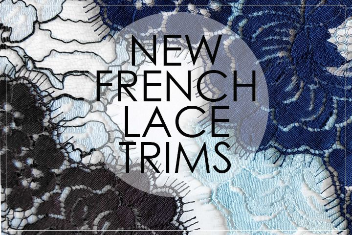 French lace trims