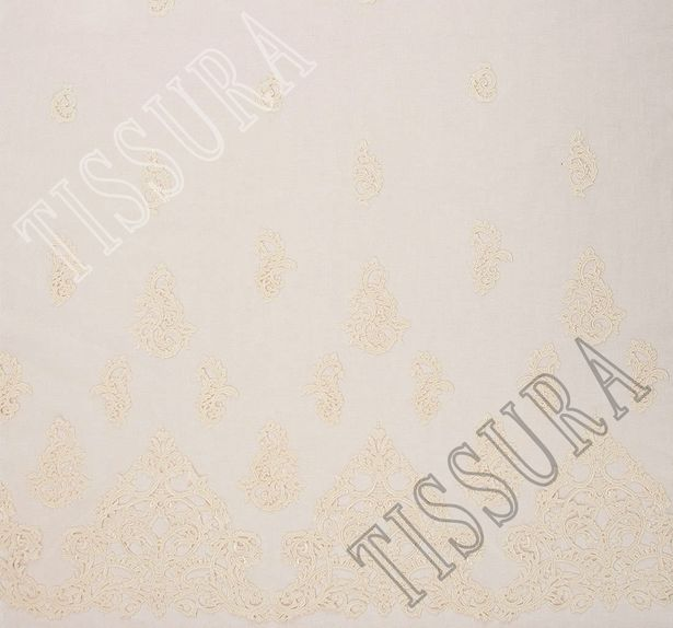 Embroidered Cutwork Tulle #3