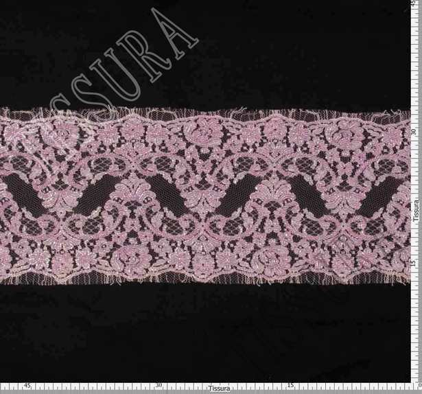 Embroidered Chantilly Lace Trim #2