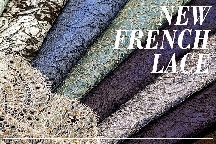 Solstiss lace fabrics