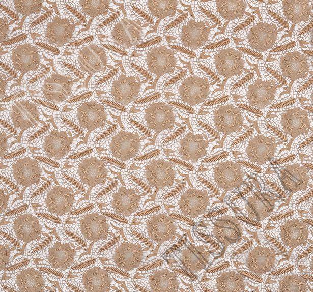 Swarovski Appliqued Guipure Lace #3
