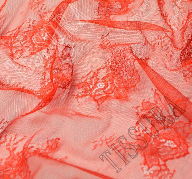 Silk Chantilly Lace Fabric #3
