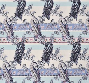 Cotton & Silk Jacquard #1