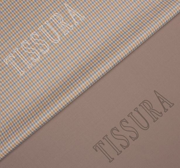 Double Faced Suiting Fabric with Elastane #1