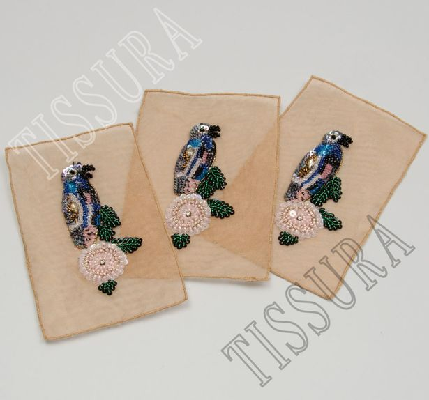 Sequin & Bead Patch #3