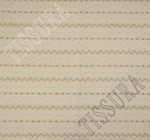 Embroidered Cotton Jacquard #3